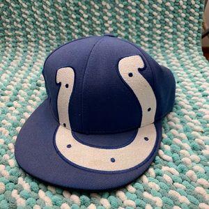 NFL Colts Flat Bill Hat